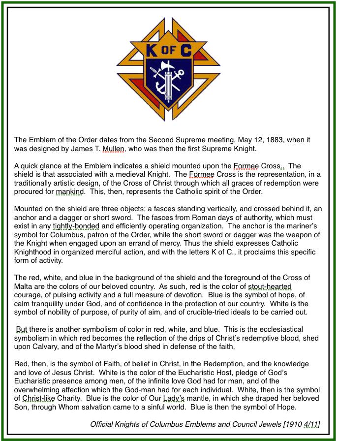 st michael the archangel catholic church symbols